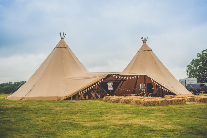 HELSBY | Two Tipis