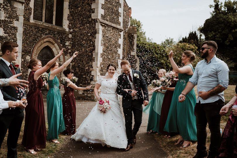 Stone Church Wedding