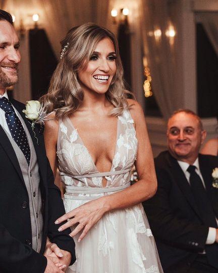 Wedding beauty that glows