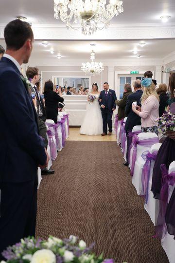 Marlborough room -ceremony