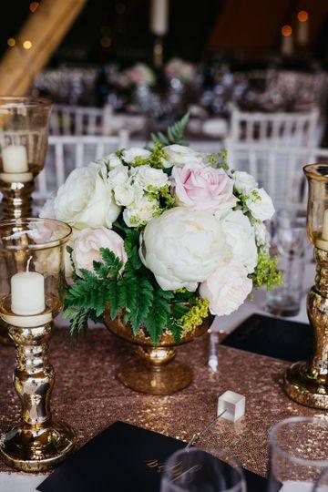 Tipi Wedding Flowers