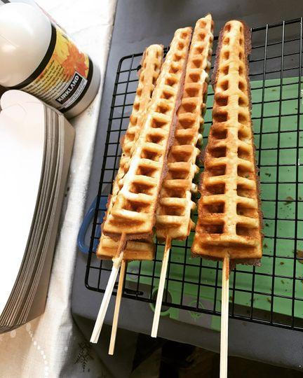 Naked waffles