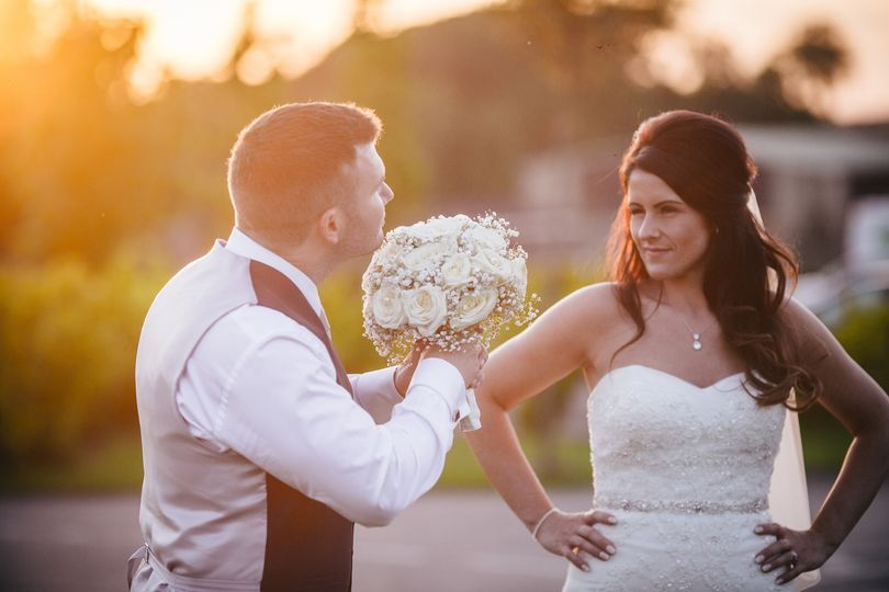Sunset footage