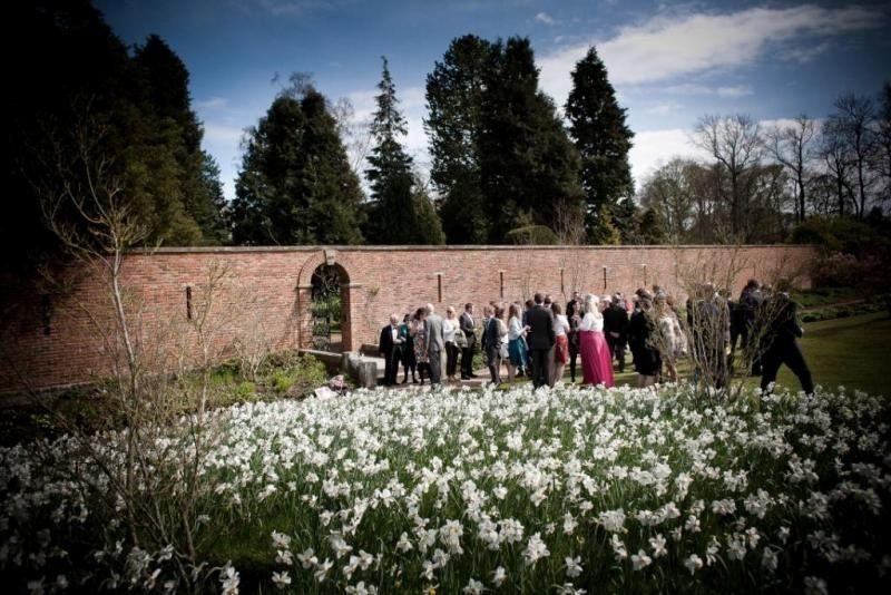 Utopia walled garden Yorkshire