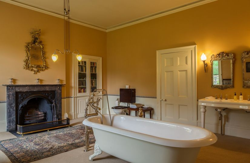 Beautiful bathrooms at Broughton Hall