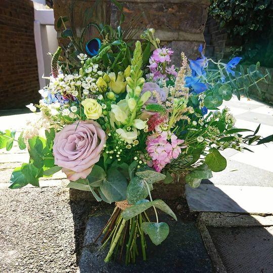 A colourful arrangement
