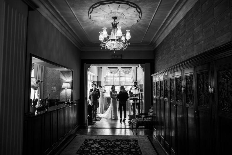 Entrance Lobby, last preperations