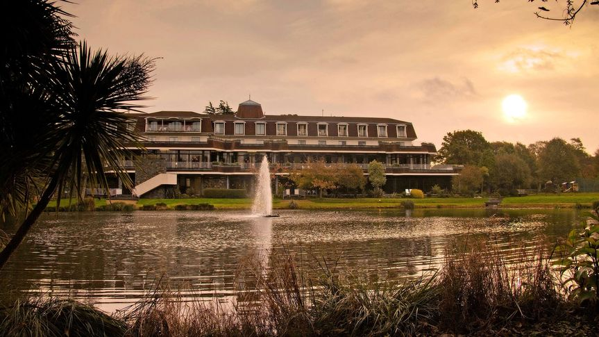 Dusk at St Pierre Park Hotel & Golf Resort