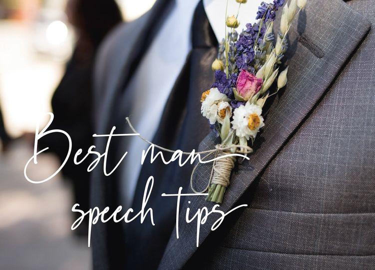 Best Man speech help too