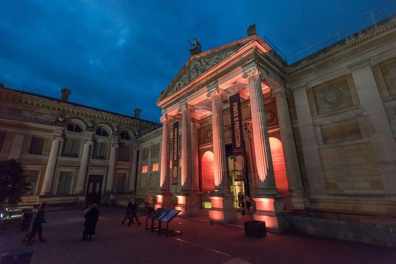 Front Entrance of Ashmolean Museum