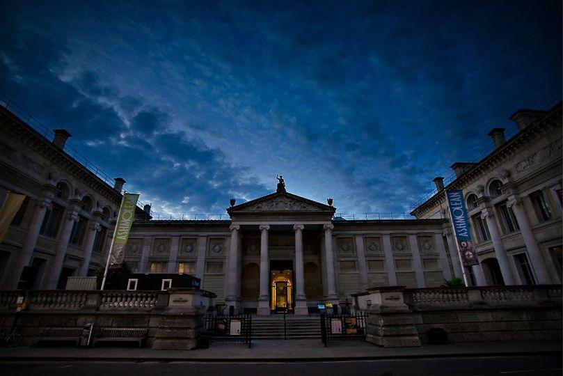 Ashmolean Museum Front Entrance