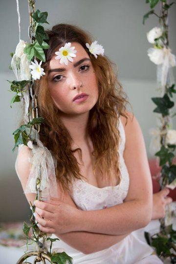 Titania flower crown