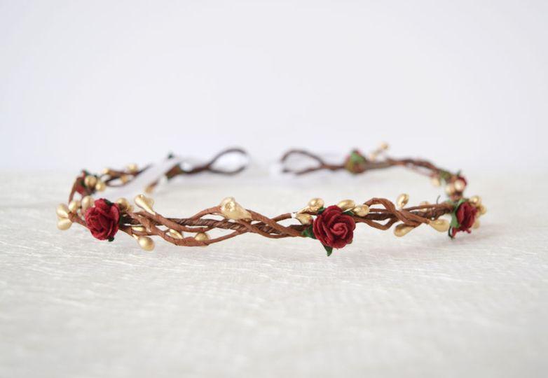 Faith flower crown