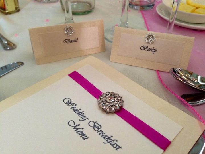 Table stationery