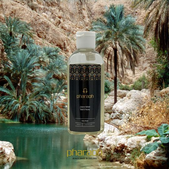 Peony and Oud body wash