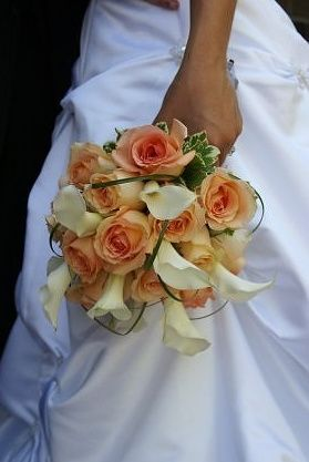 Calla's & roses