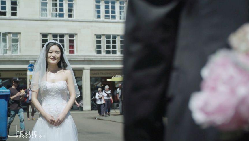 Bride in Cambridge