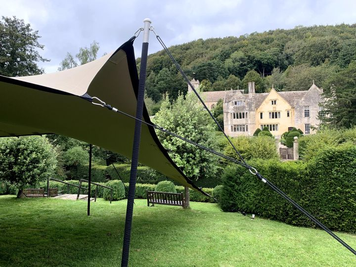Open-air tent