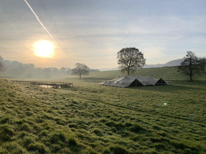 Set amidst idyllic fields