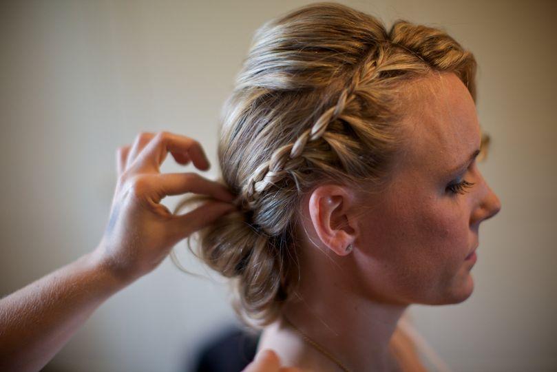 Serena hair and make up
