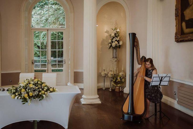 Harriet Flather Harpist