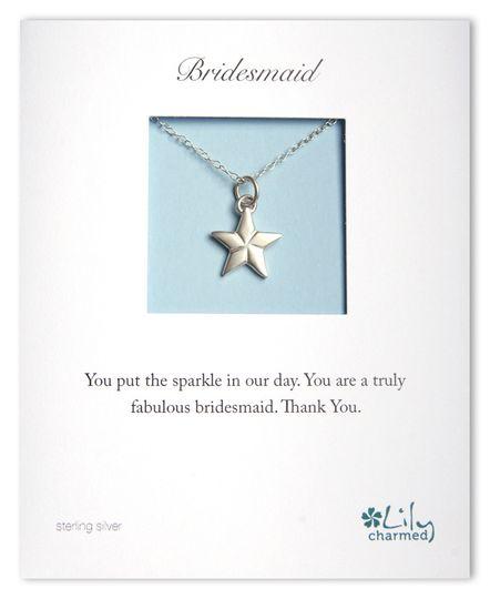 Bridesmaid - Star Necklace
