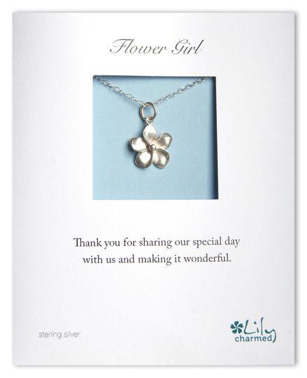 Flower Girl - Flower Necklace