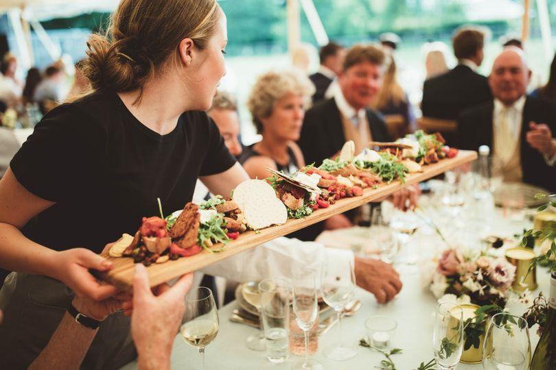 Sharing Mediterranean Platters