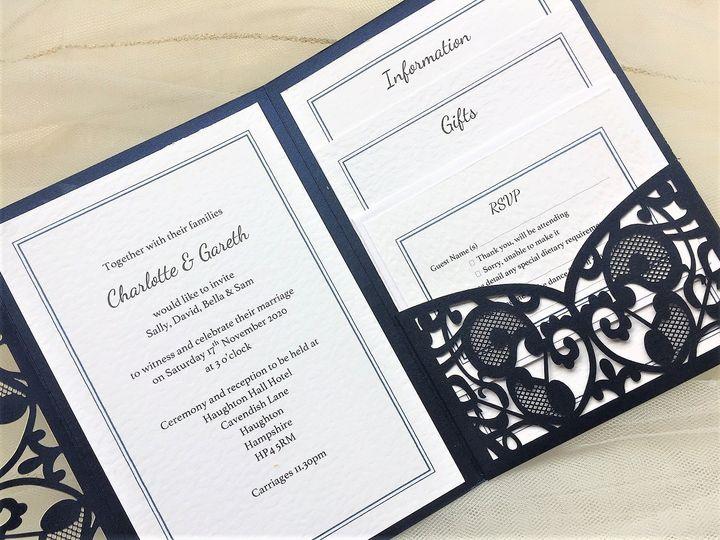 laser cut pocketfold wedding invitations 4 4 113843 157346557275220