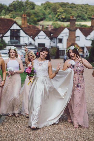 Bridesmaid moments