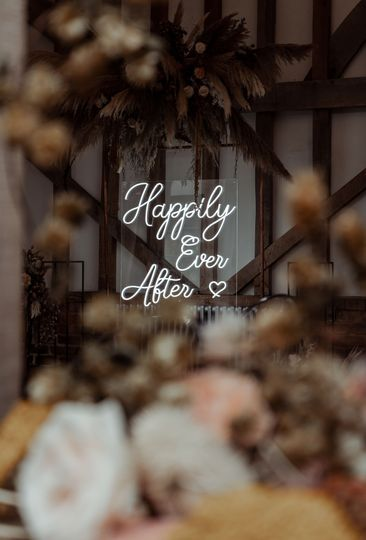 Surrey Wedding Neon Sign