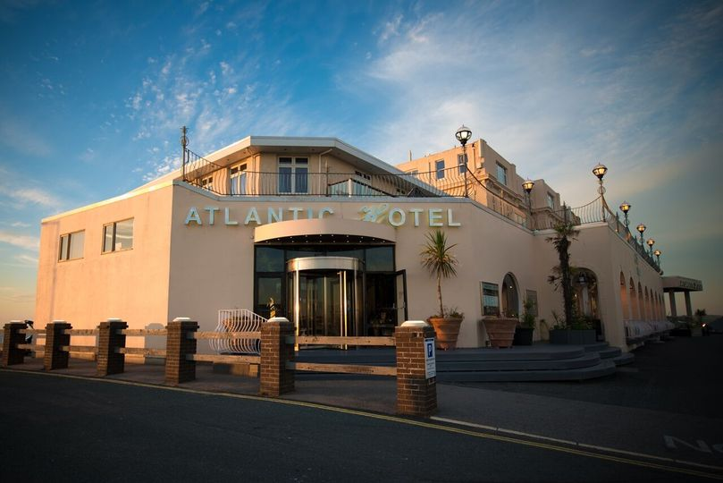 The Atlantic Hotel Entrance