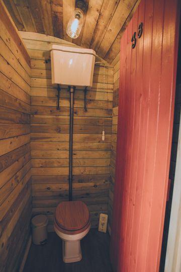 Victorian style toilets
