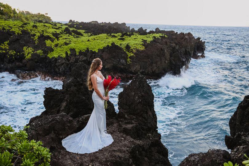 Clifftop Bride