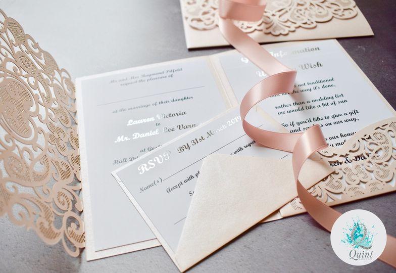 Elegant invites