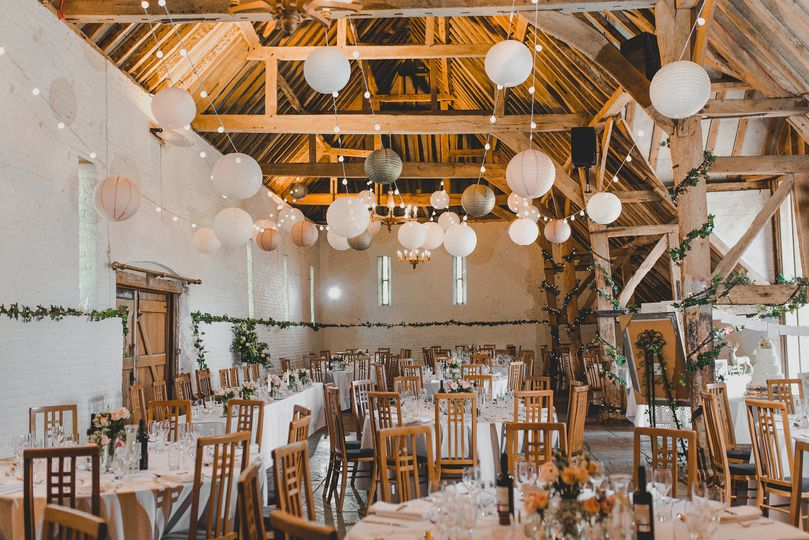 Tithe Barn Wedding Breakfast