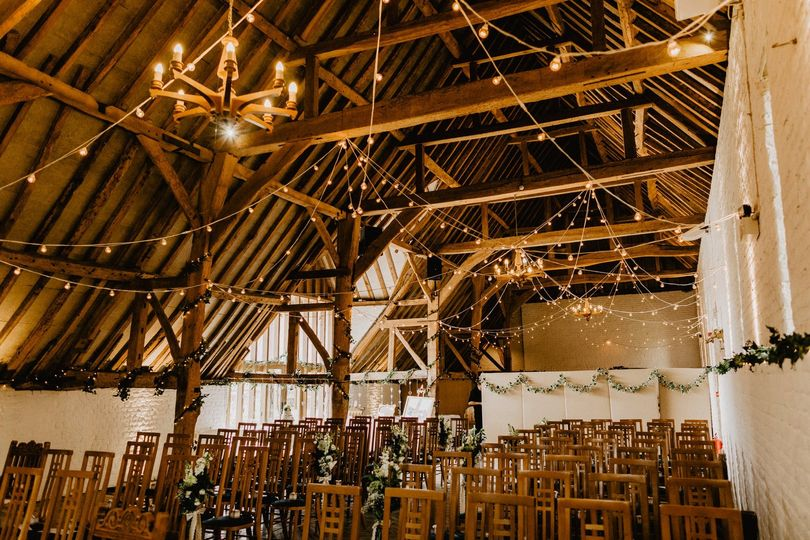Tithe Barn Ceremony
