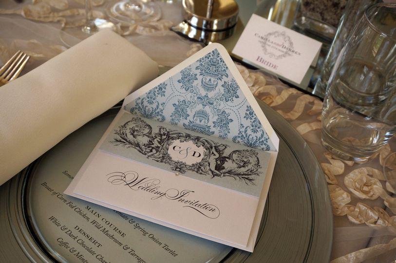 Cameo Creative Wedding Stationery