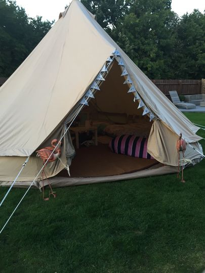 Themed glamping