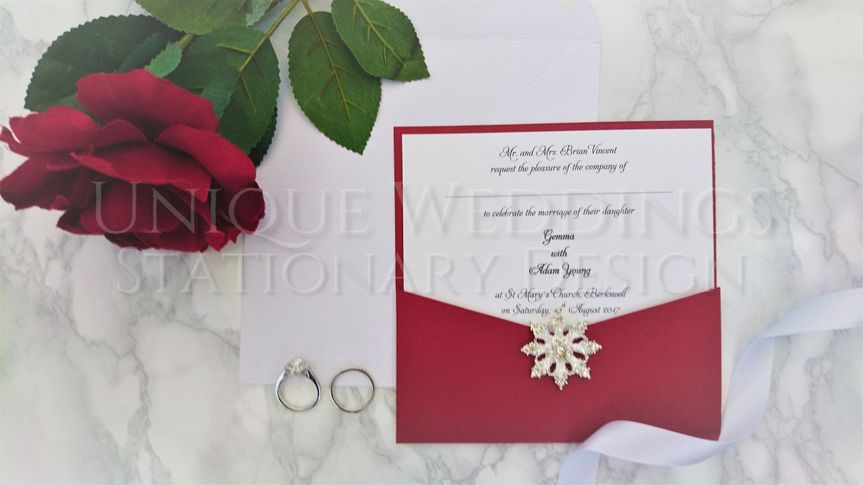 Bespoke Stationary Design by Unique Weddings