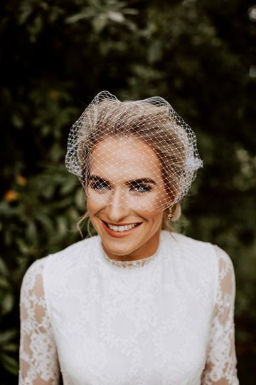 Smiling bride - Emma Kenny Weddings