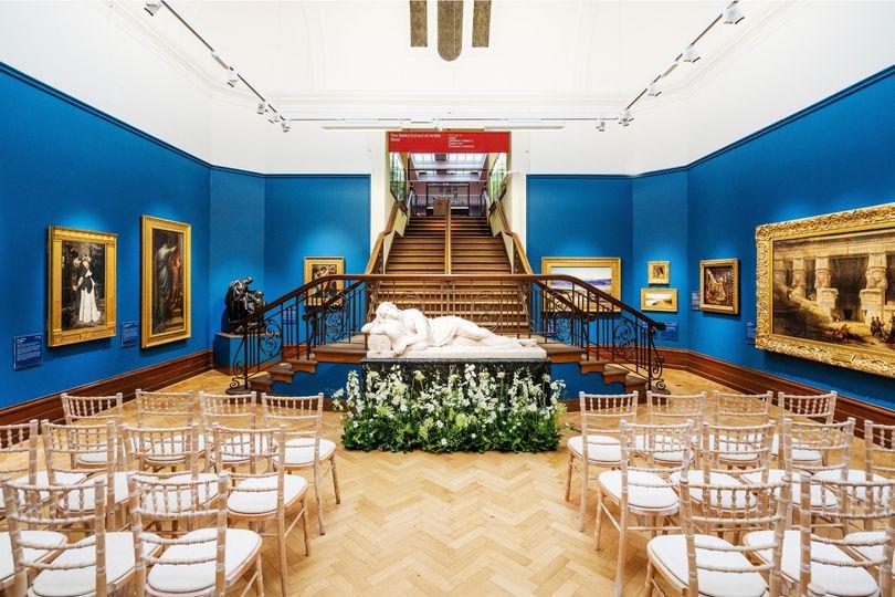 Museum ceremony