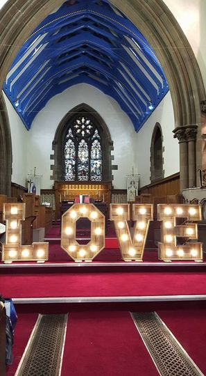 LOVE Letters churche
