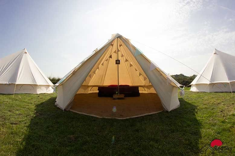 Marquee & Tipi Hire Red Sky Tent Company 3