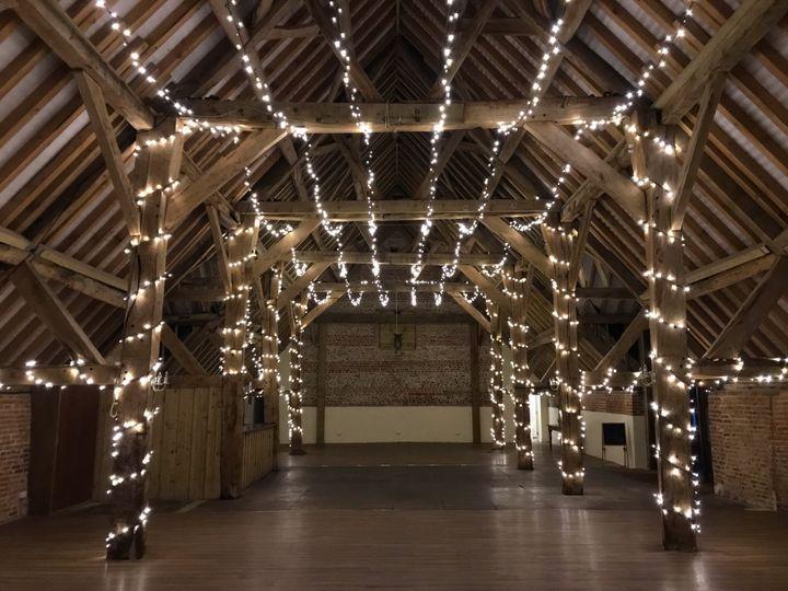 Barn Fairy Lights