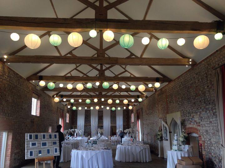Light-Up Barn Lanterns