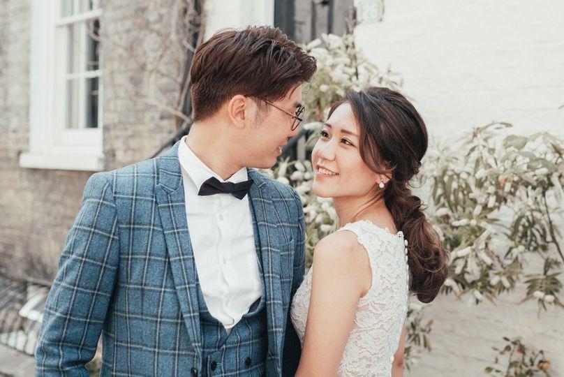 Portrait of the happy couple - Suzy Elizabeth Photography
