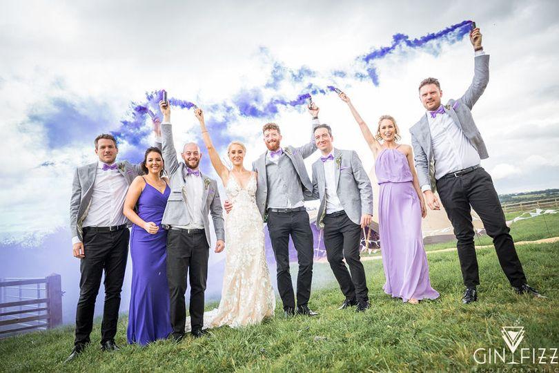 B&N wedding day