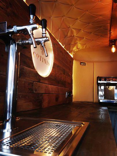 Prosecco and coffee Equipment