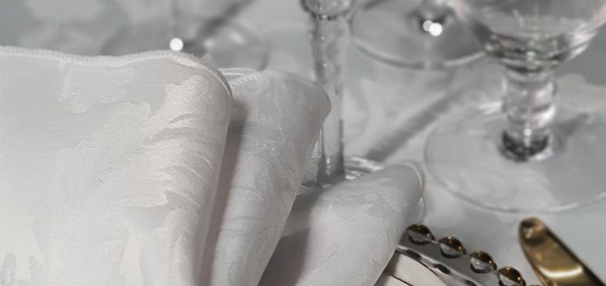 Gold rim dining set with gold napkin ring holder   gold rim glasses